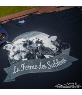 Tee-shirt La Ferme des Sablons
